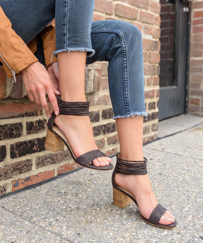 Heels, Ankle Strap Block Heel, Say More Boutique, MiiM