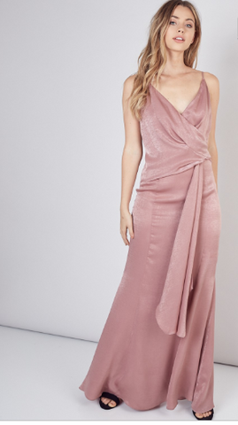 Dresses, Drape side Maxi Dress, Say More Boutique, Do+Be