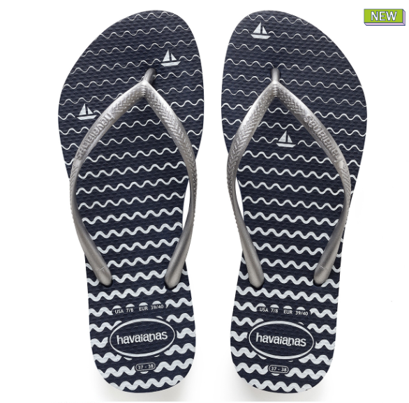 Sandals, Nautical Ocean Havaianas, Say More Boutique, Havaianas