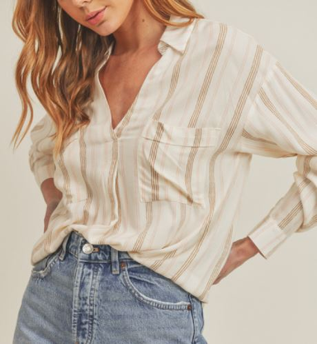 Chenille Cross Front Sweater
