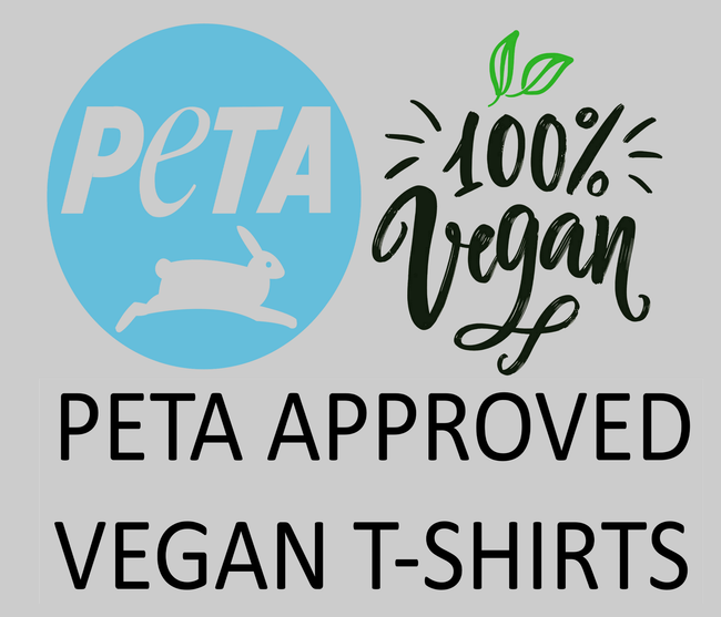 PETA approved organic vegan t shirts