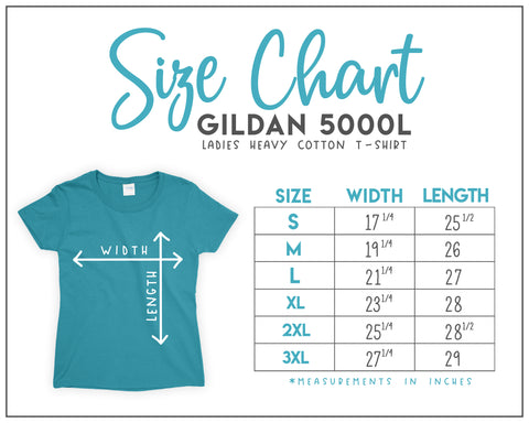 6TN Ladies Size Guide