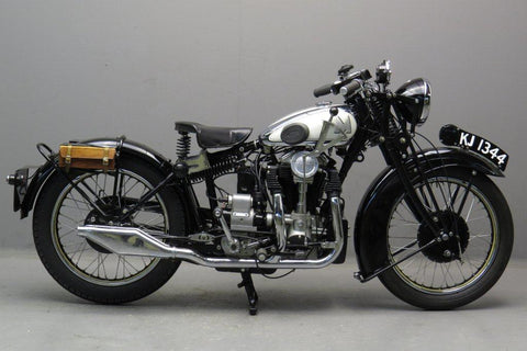 matchless silver hawk made in london 1931