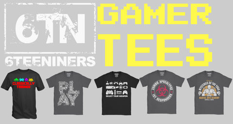 Video gamer t shirt collecton page 6tn
