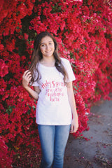 """Holy Spirit You Are Welcome Here"" Women's Tee"