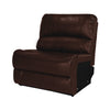 "RecPro Charles 36"" Drop Down Console with Cup Holders RV Furniture Mahogany"