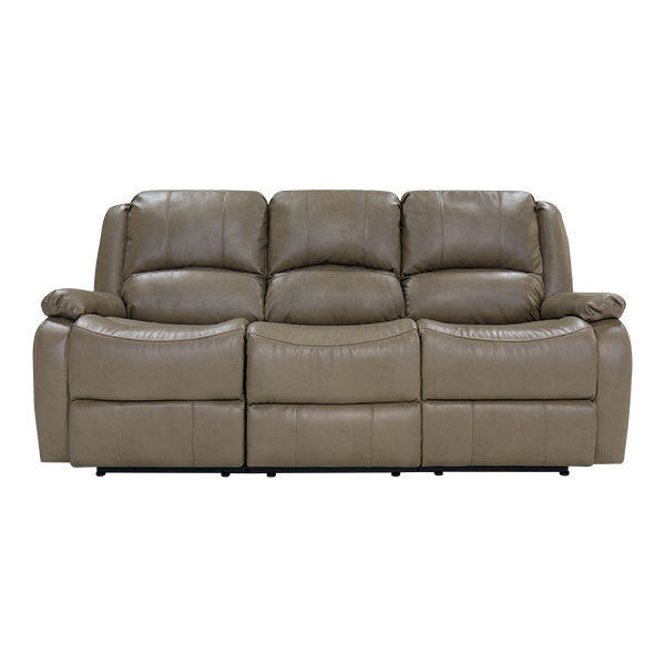 RecPro Charles 80  Triple RV Zero Wall Hugger Recliner Sofa w/ Drop Down Console Putty  sc 1 st  RecPro.com & RecPro Charles 80