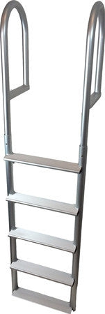 Aluminum Five Step Dock Pier Ladder Full