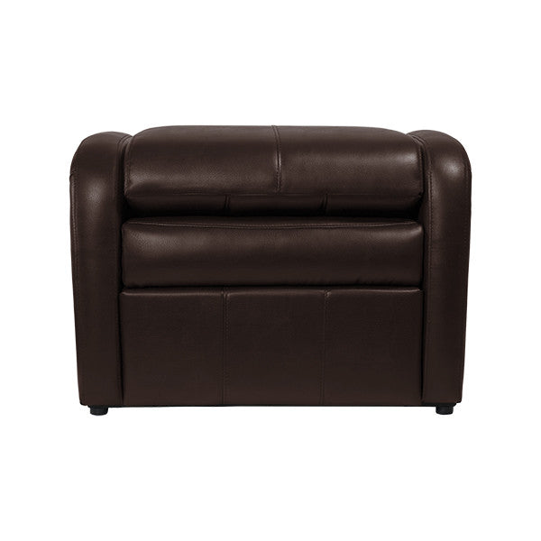 RecPro Charles RV Gaming Chair Ottoman w/ Storage Mahogany - RecPro Charles RV Gaming Chair Ottoman W/ Storage Mahogany