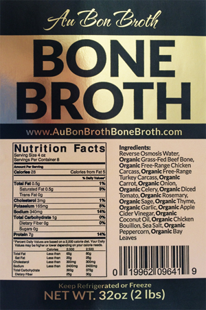Bone Broth Label