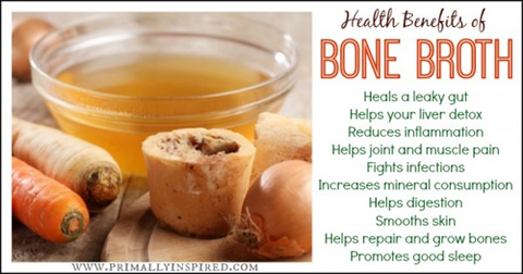 How to make chicken bone broth for baby