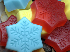 Halo Hemp Soap Snowflake Collection