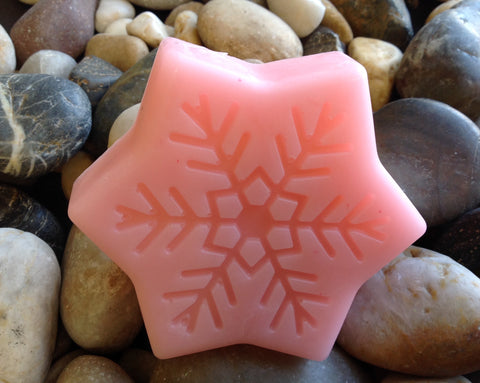 Halo Hemp Soap Snowflake (Pink Grapefruit)