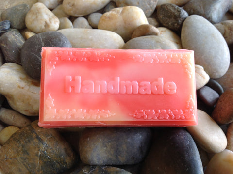 Halo Hemp Soap Handmade (Wild Peach Poppies)