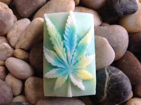 Halo Hemp Soap Hemp Leaf Heaven Scent