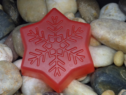 Halo Hemp Soap Snowflake (Peppermint)