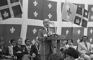 The traditionalist René Lévesque