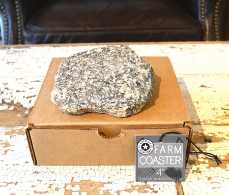 "American Stonecraft 4"" Granite Coaster"