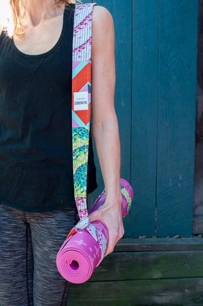 Mindfully Made Studios Yoga Mat Strap Carrier