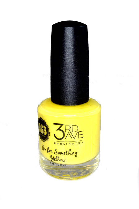 "365 Lacquer Nail Polish - Limited Edition 3rd Ave ""Go for Something Yellow"""