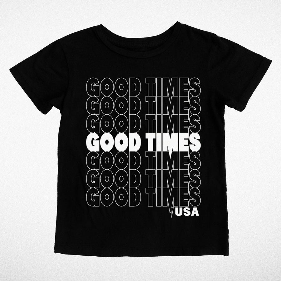 Tiny Whales Good Times USA Tee