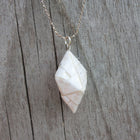 Lee Mo Design Geo Diamond Necklace
