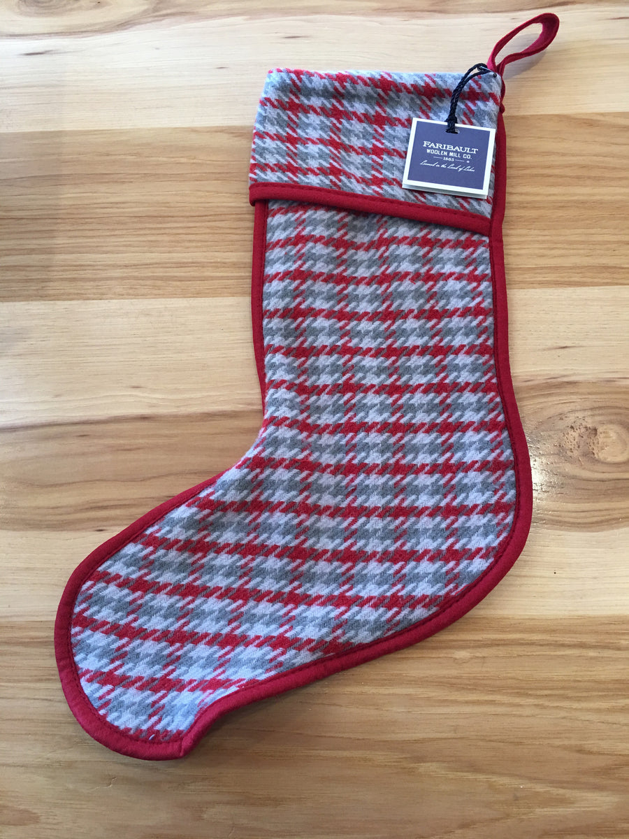 Faribault Holiday Wool Stockings