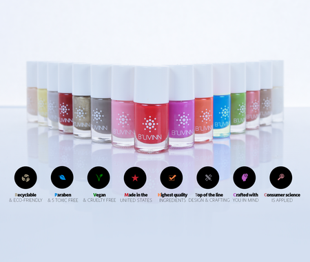 B'livinn  Nail Polish Collection