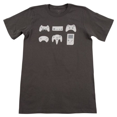 Cinder + Salt Mens Game Controllers Tee
