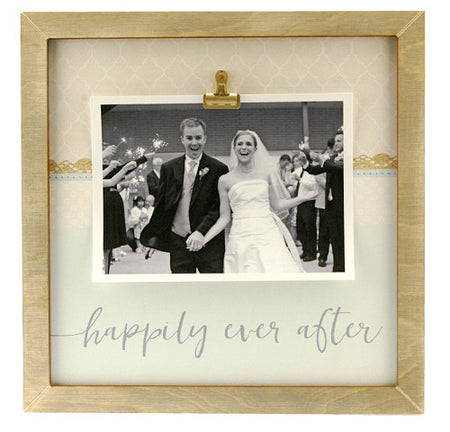 a.i. paper design Large Rustic Frame - Happily Ever After