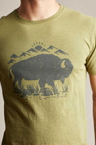 United By Blue Mountain Bison T-Shirt