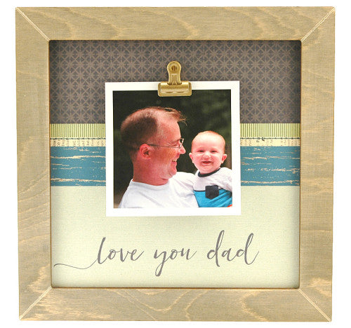 a.i. paper design Medium Rustic Frame - Love you Dad