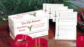 Antons Publications,  'Tis the Season TM. Christmas Trivia Game