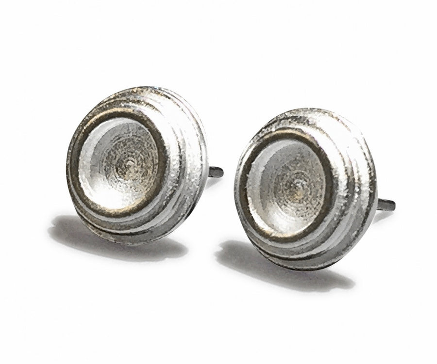 Sue Rosengard Jewelry Design Groove Studded Earrings