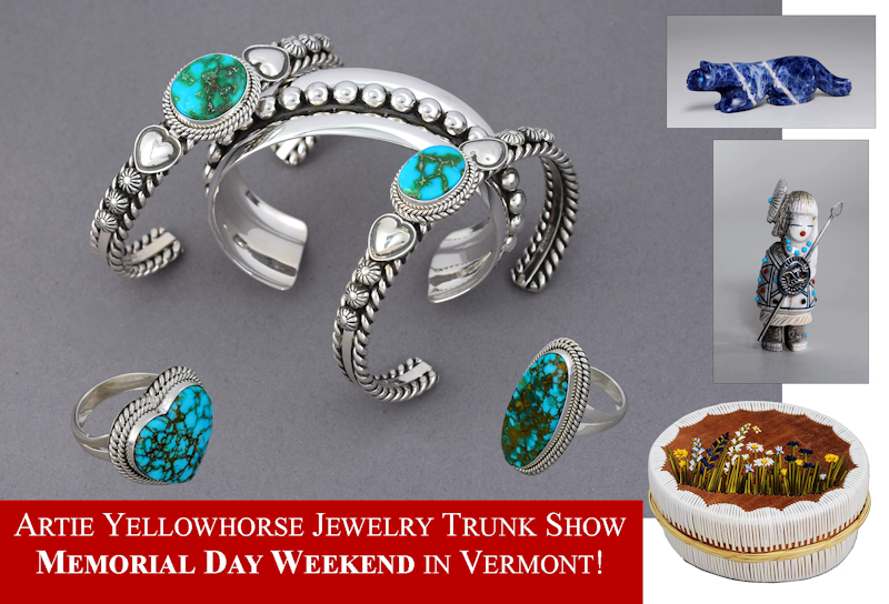 2021 Springtime Developments - Travel, Artie Yellowhorse Jewelry, Memorial Day
