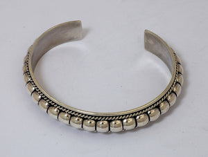 Narrow Cuff Bracelet by Thomas Charlie