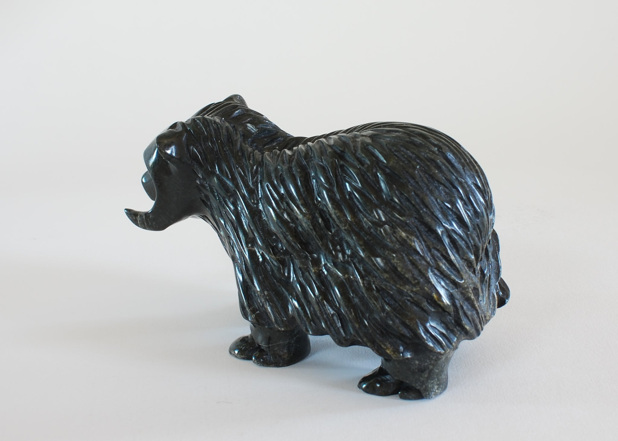 Musk Ox by Kelly Etidloie of Kingait