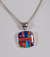 Large Rounded Square Pendant by Kenneth Bitsie