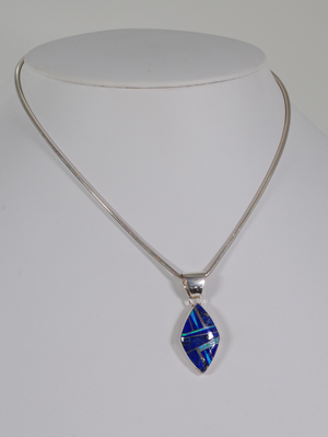 Diamond-shaped Pendant by Cathy Webster