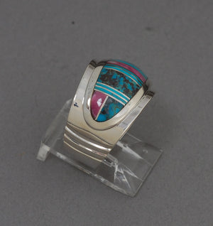 Ring with Inlay by Kenneth Bitsie