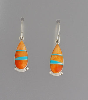 Oval Earrings on Hooks by Cathy Webster