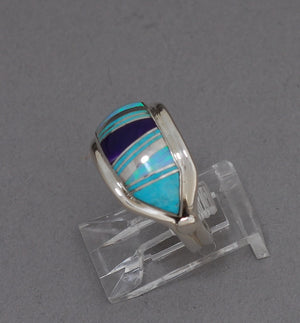 Ring with Inlay by Cathy Webster