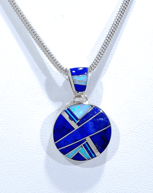 Pendant with Inlay by Cathy Webster