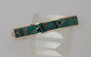 Bracelet with Inlays by Kenneth Bitsie