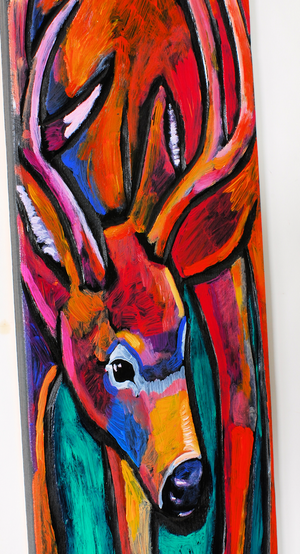 """Deer"" Painting by Leland Holiday"