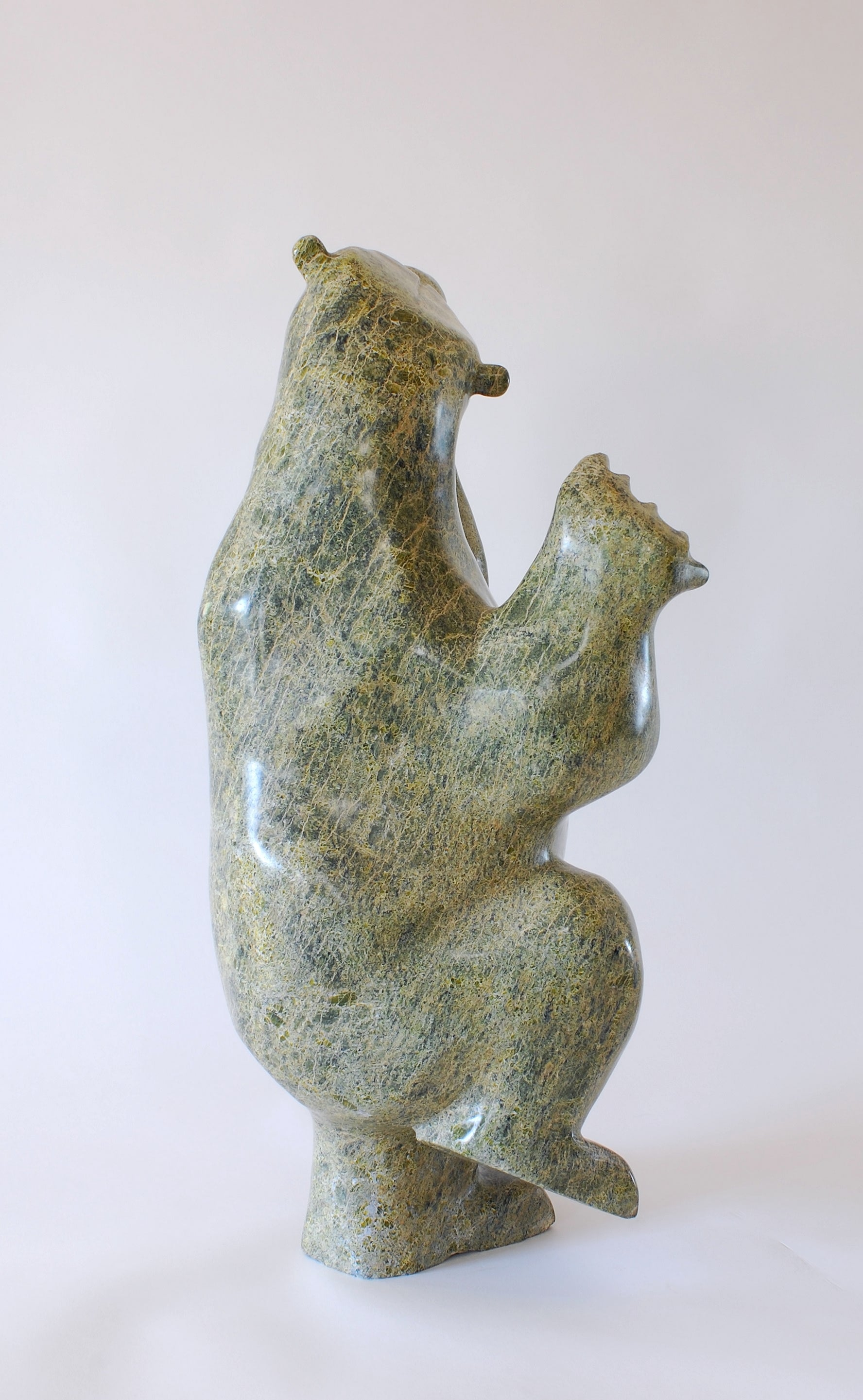 Dancing Bear by Enook Manomie, Iqaluit, c.1997