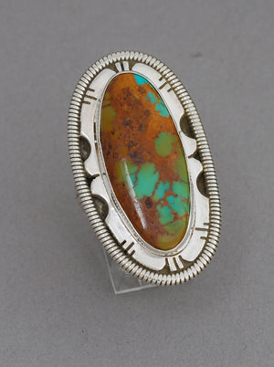 Turquoise Ring by Wydell Billie