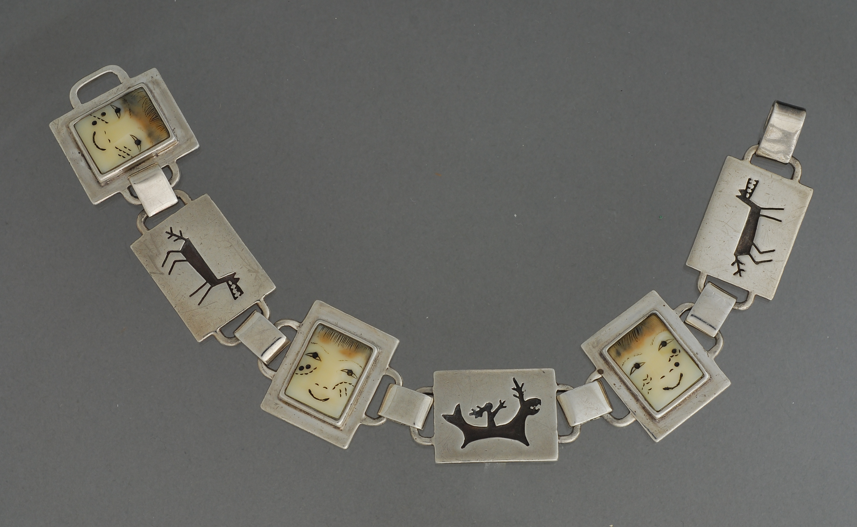 Killer Whale/Wolf Transformation Bracelet by Denise Wallace