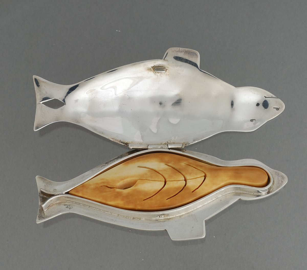 Seal Design Pendant (with removable inner seal) by Denise Wallace