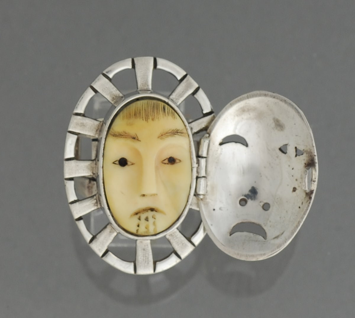 Woman-In-The-Moon Ring by Denise Wallace